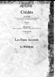 Faux Accords - Hautbois