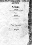 Faux Accords - Orgue